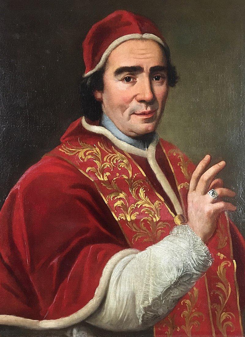GIOVANNI DOMENICO PORTA Ritratto di papa Clemente XIV, olio su tela (70x58,5 cm), 1769-1770